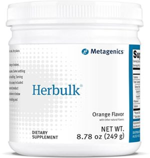 Metagenics Herbulk Dietary Supplement, Orange, 8.78 Ounce