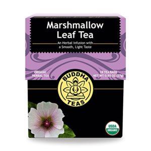 Organic Marshmallow Tea - Kosher, Caffeine Free, GMO-Free - 18 Bleach Free Tea Bags