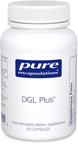 Pure Encapsulations - DGL Plus - 60 Capsules