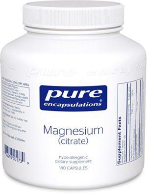 Pure Encapsulations - Magnesium (Citrate) 180 Capsules