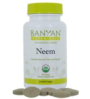 Banyan Botanicals Neem Tablets
