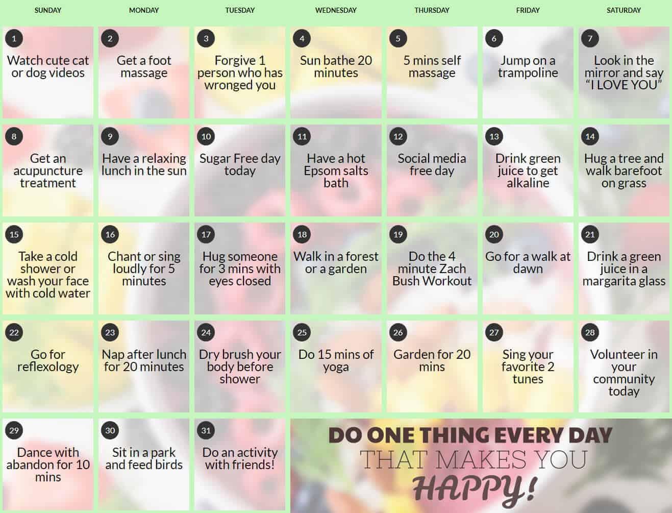 Health-Calendar